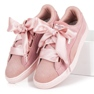 Puma Suede Heart Pebble WN`S pink 3
