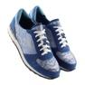 Y620 D. Blå sneakers 1
