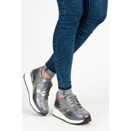 Kylie Sportsko med brocade grå 3
