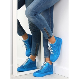 Dame sportssko blå 1413 blå 4