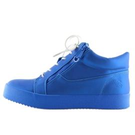 Dame sportssko blå 1413 blå 1