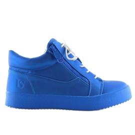Dame sportssko blå 1413 blå 3