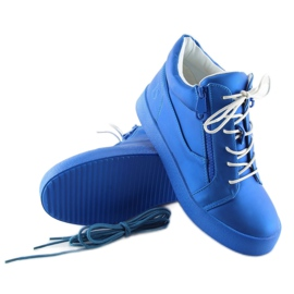 Dame sportssko blå 1413 blå 6