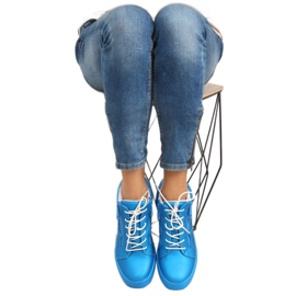 Dame sportssko blå 1413 blå 7