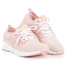 Ax Boxing Slip-on klud sko pink 1