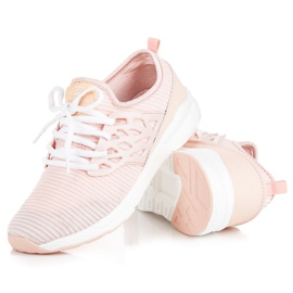 Ax Boxing Slip-on klud sko pink 2