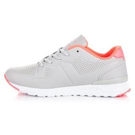 Ax Boxing Grey Women's Sports Shoes 3