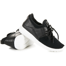 Sort slip-in sneakers 4