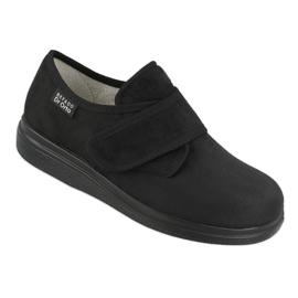 Befado kvinders sko pu 036D007 sort 1