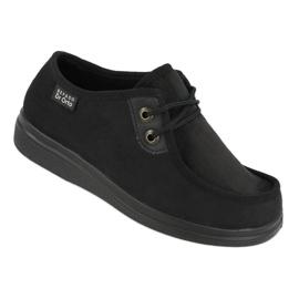 Befado kvinders sko pu 871D004 sort 1