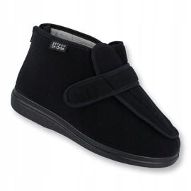 Befado kvinders sko pu orto 987D002 sort 1