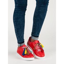 Moderigtige Red VICES sneakers rød 7