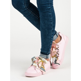 Pink Bundet Sneakers VICES 2