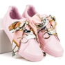 Pink Bundet Sneakers VICES 3