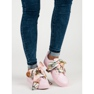 Pink Bundet Sneakers VICES 1
