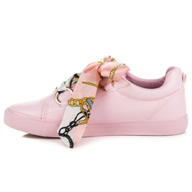 Pink Bundet Sneakers VICES 5