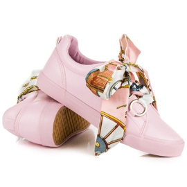 Pink Bundet Sneakers VICES 6