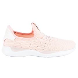 Pulverslip-on sneakers pink 5