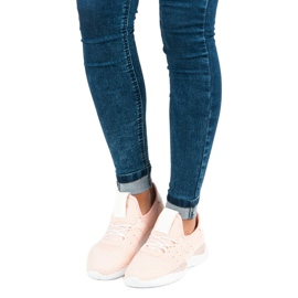 Pulverslip-on sneakers pink 3