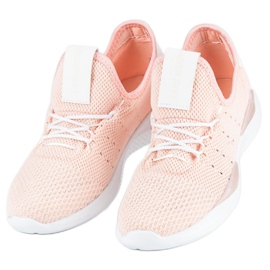 Pulverslip-on sneakers pink 1