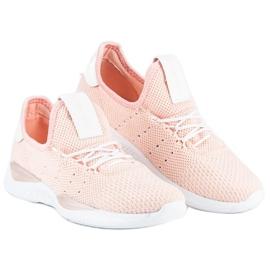 Pulverslip-on sneakers pink 2