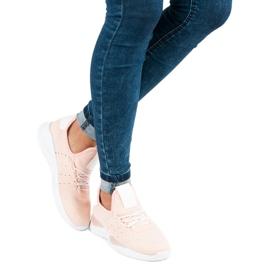 Pulverslip-on sneakers pink 4