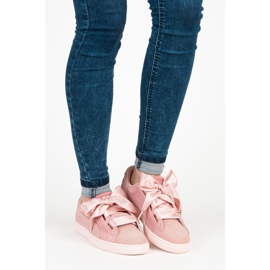 Puma Suede Heart Pebble WN`S pink 5