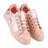Lyserøde sneakers til binding pink 4