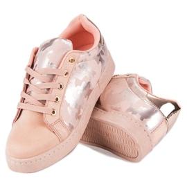 Lyserøde sneakers til binding pink 1