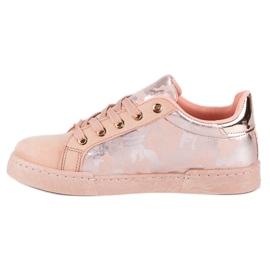 Lyserøde sneakers til binding pink 2