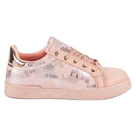 Lyserøde sneakers til binding pink 3