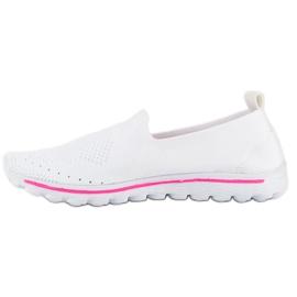 MCKEYLOR Hvid Tøj Sneakers 1