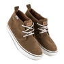 Andy Z Suede sneakers over ankelen brun 3