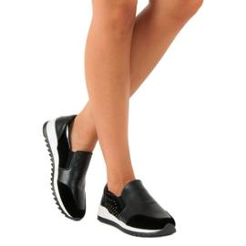 Vinceza slip-on sneakers sort 5