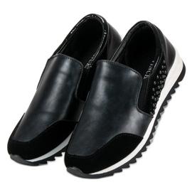 Vinceza slip-on sneakers sort 3