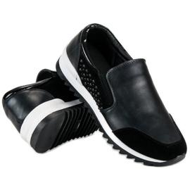 Vinceza slip-on sneakers sort 2