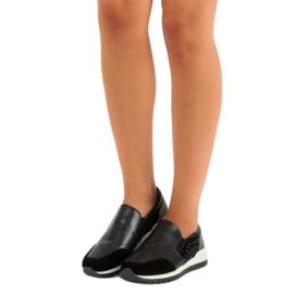 Vinceza slip-on sneakers sort 4