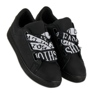 Black Fashion sneakers sort 7