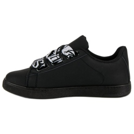 Black Fashion sneakers sort 3