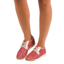Kylie Trendy Tied Sneakers rød 1