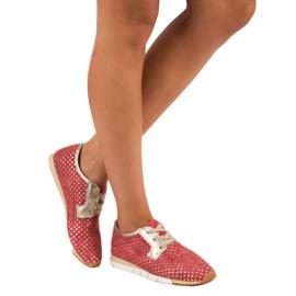 Kylie Trendy Tied Sneakers rød 2