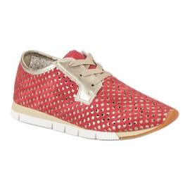 Kylie Trendy Tied Sneakers rød 3