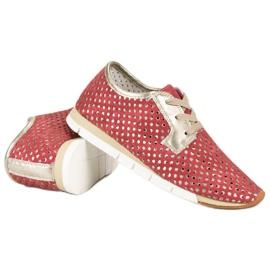 Kylie Trendy Tied Sneakers rød 4
