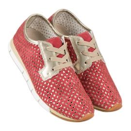 Kylie Trendy Tied Sneakers rød 6
