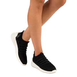 Kylie Textile Slip-on Sport Sko sort 1