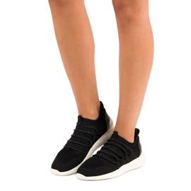 Kylie Textile Slip-on Sport Sko sort 6