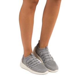 Kylie Textile Slip-on Sport Sko grå 6