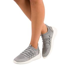 Kylie Textile Slip-on Sport Sko grå 1