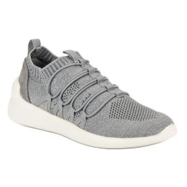 Kylie Textile Slip-on Sport Sko grå 3