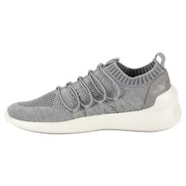 Kylie Textile Slip-on Sport Sko grå 4